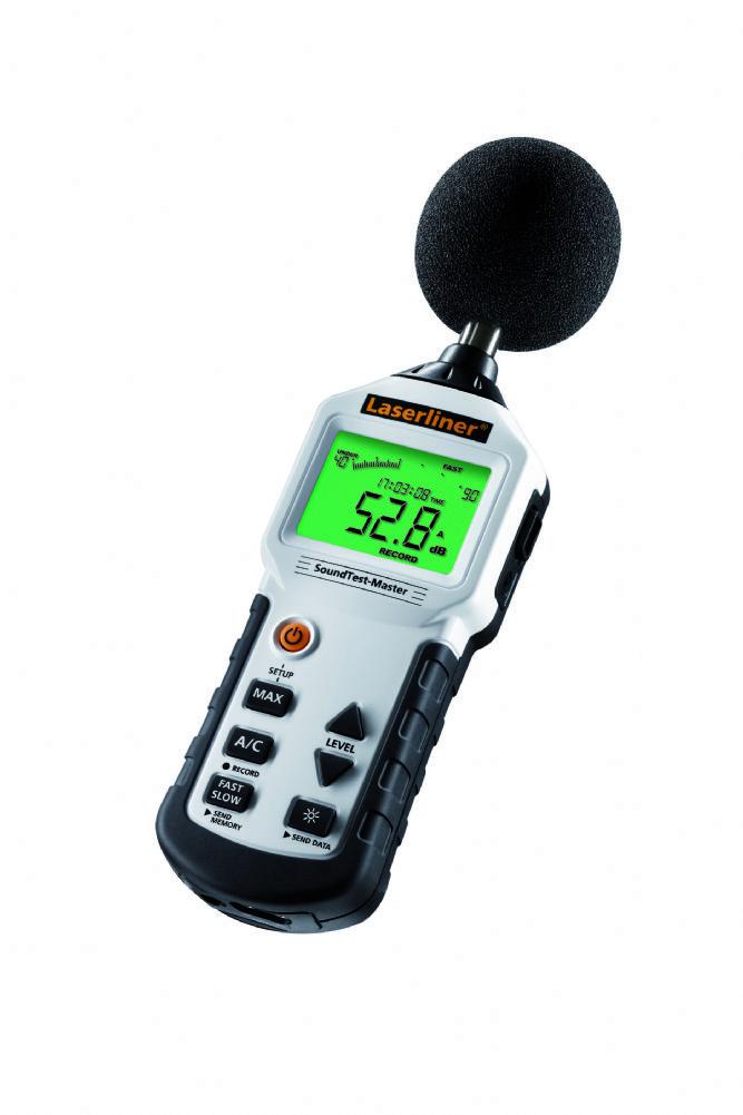 Geräuschpegelmessgerät Sound Test-Master
