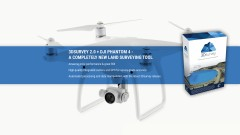 3d survey vers. 2 & dji phantom 4 pro package